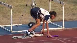 103年縣長盃田徑賽小女400公尺接力決賽