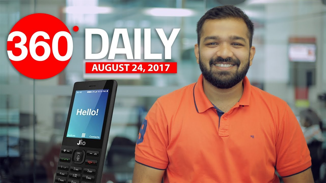 Jio Phone Specifications Revealed, Google Pixel 2, Pixel XL 2 Launch Date, and More (Aug 24, 2017)