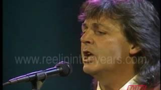 "Paul McCartney- ""My Brave Face"" on Countdown 1989"