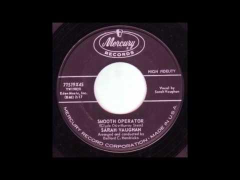 Sarah Vaughan  Smooth Operator  '1959 Mercury  45 71519