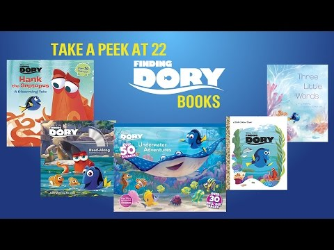 Finding Dory Book Review - Take A Peek At 22 Different Books