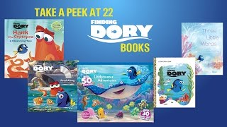 Video Finding Dory Book Review - Take a Peek at 22 Different Books download MP3, 3GP, MP4, WEBM, AVI, FLV September 2018