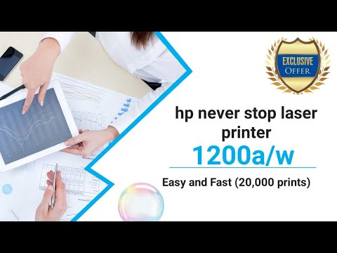 HP Never Stop Laser MFP 1200a/w Printer Full Information | Review | Tamil