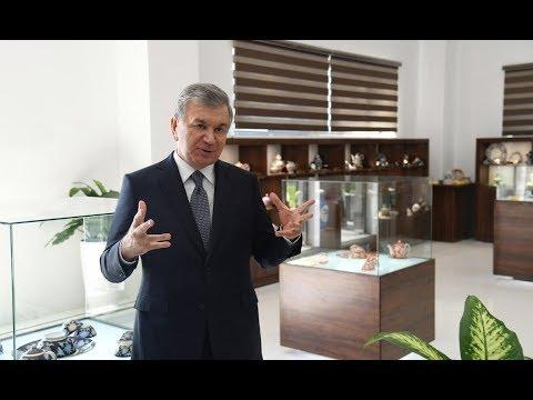 Президент Узбекистана ознакомился объектами строительства в г.Ташкенте