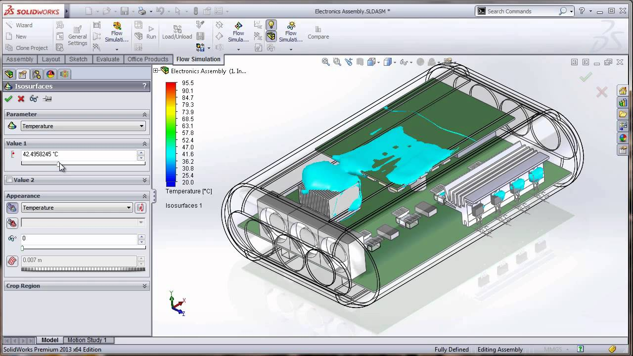 Solidworks Electronic Cooling Demo By Cimquest Youtube