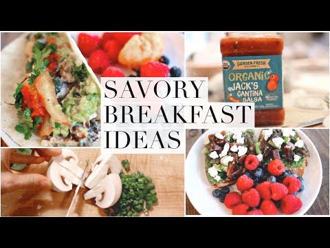 Savory Breakfast Ideas! Healthy & Unique!