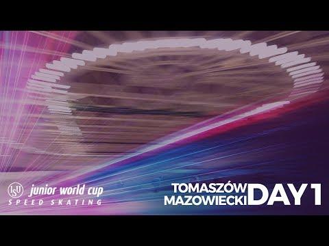 ISU Junior World Cup Speed Skating - Tomaszów Mazowiecki POL (Day 1)