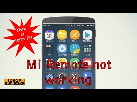 Mi Remote Not Working Problem Fixed | Mi Remote App |Tech Help Full HD