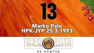 Joulukalenteri #13: Marko Palo, ratkaisumaali keväältä 1993