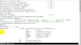 Installation et configuration du serveur DNS Secondaire RedHat