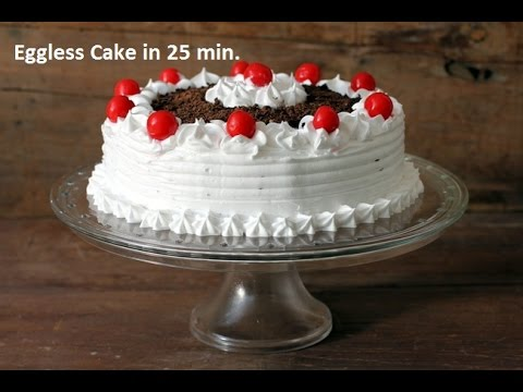 How to make eggless cake in microwave oven in hindi
