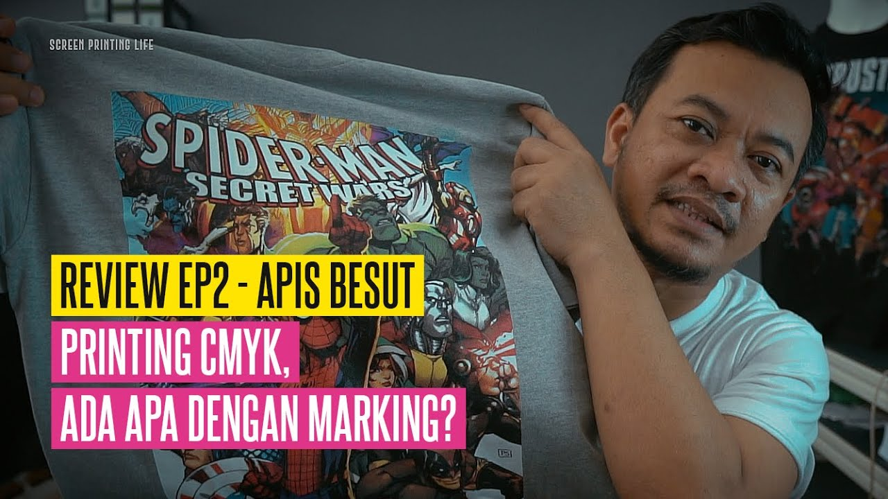Review EP2 : Registration Is The Key For CMYK Printing? ( We Will Put Eng Subtitles Soon )