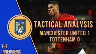 Tottenham vs Manchester United 0-1 | Tactical Analysis | How Solskjaer's Tactics Exposed Spurs