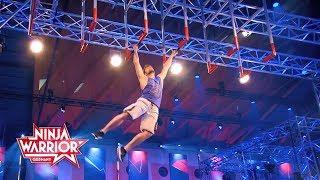 Ninja Warrior Germany: Thomas Ludwig zieht mit Bestzeit ins Halbfinale ein