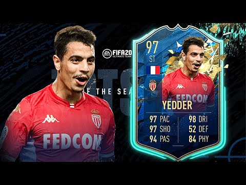 FIFA 20: BEN YEDDER 97 TOTSSF PLAYER REVIEW I FIFA 20 ULTIMATE TEAM
