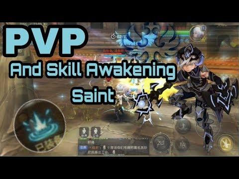 PVP and Skill awakening Saint Dragon nest M/Awake Mobile