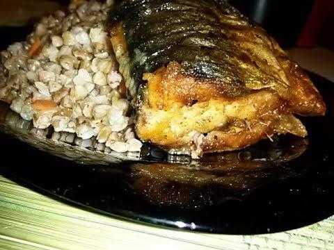 Блюдо из замороженной рыбы за 10 минут!!! Сельдь и гречка с овощами.