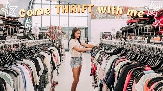 come thrift with me + haul!