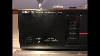 Kenwood KM-991 Power Amplifier…