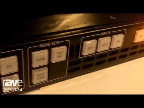 ISE 2014: Barco Explains The ImagePRO-II Jr All-In-One Video Scaler
