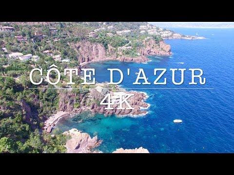 l Drone Plan l Côte d'Azur-French Riviera 4K