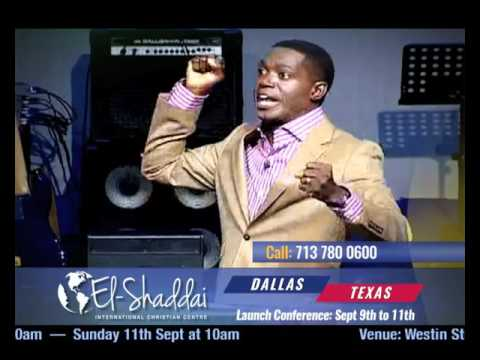 El-Shaddai Dallas Church Launch