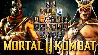 MORTAL KOMBAT 11: All NEW Characters REVEALED! Possible MK11 Roster Breakdown (Mortal Kombat 11)