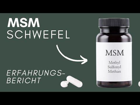 Meine Erfahrung mit MSM