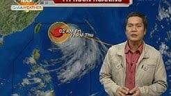 24 Oras: Typhoon Huaning, lumakas pero hindi inaasahang magla-landfall