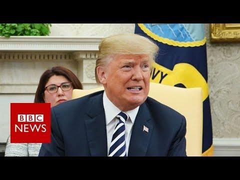 Donald Trump: I congratulated Putin on his Victory - BBC News