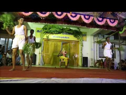 ஆலமர பிள்ளையாரே  -Aalamara pillaiyarae | Chidrens dance for Aalamara pillaiyarae song