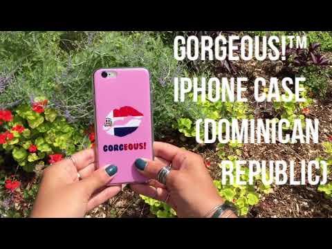 Gorgeous!™ iPhone Case (Dominican Republic)