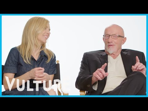 Jonathan Banks and Rhea Seehorn Have Weird