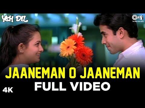 Jaaneman O Jaaneman Full Video - Yeh Dil   Tusshar Kapoor, Anita   Tauseef, Neerja   Nadeem Shravan