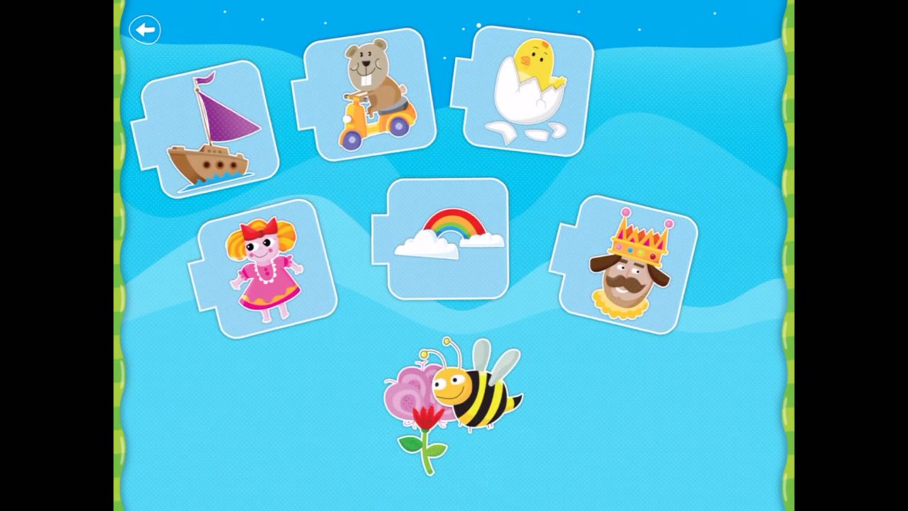 Learning Shapes, Colors, Numbers, Matching Puzzles Game