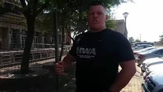Steve van Eeden of the HWA Honour Wrestling Association