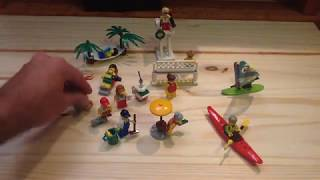 Lego 2017 City People Pack Fun at the Beach 60153 Set Review