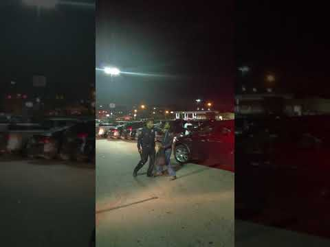 Police brutality at Detroit Meijer 8 mile and Woodward