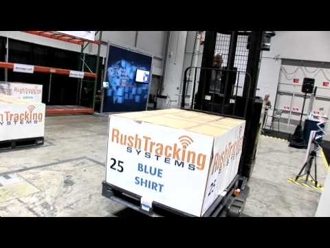 VisiblEdge RFID enabled forklift @ RFID Journal LI...