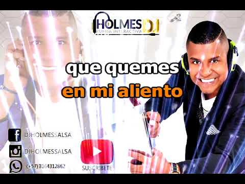 ALIMENTAME / PAQUITO ACOSTA / Vídeo Liryc letra / Holmes DJ