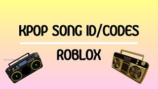 KPOP (BTS) SONG ID/CODES | ROBLOX pt. 2