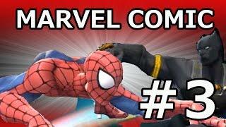 Spiderman vs Black Panther Marvel マーベルーオールスタープレイ動画...