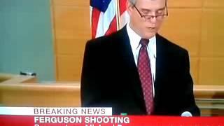 Ferguson Shooting Breaking News LIVE BBC NEWS