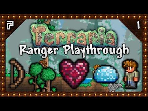 🌳 Terraria 1.3.4 Let's Play | Ranger Playthrough | Going Old-School! Rory The Ranger! [Episode 1]