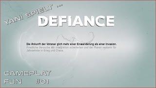 Yani spielt...Defiance # 01 - Tutorial [Gameplay German Deutsch]