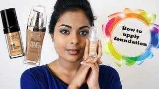 How To Apply Foundation (Tan Indian Skin/ Medium-Dark Brown skin)