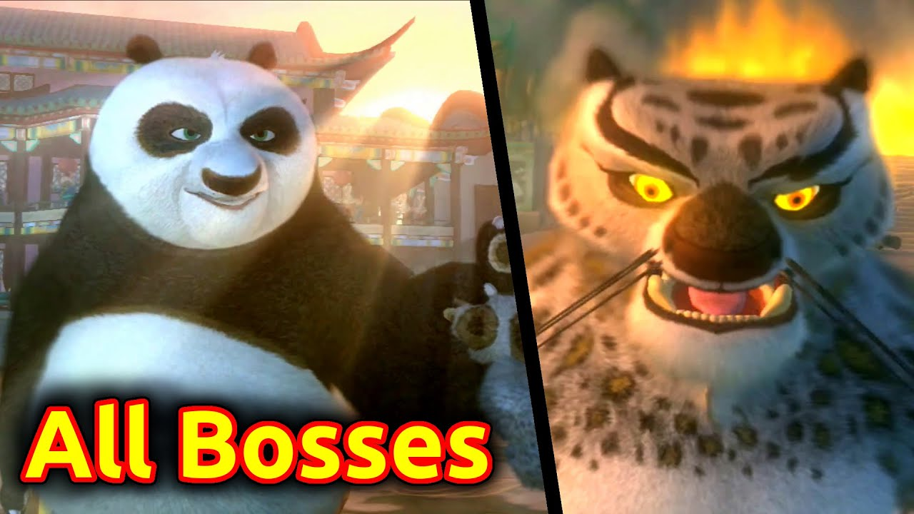 Download Kung Fu Panda - All Bosses (PS3, PS2, Xbox 360, Wii, Windows PC, macOS)