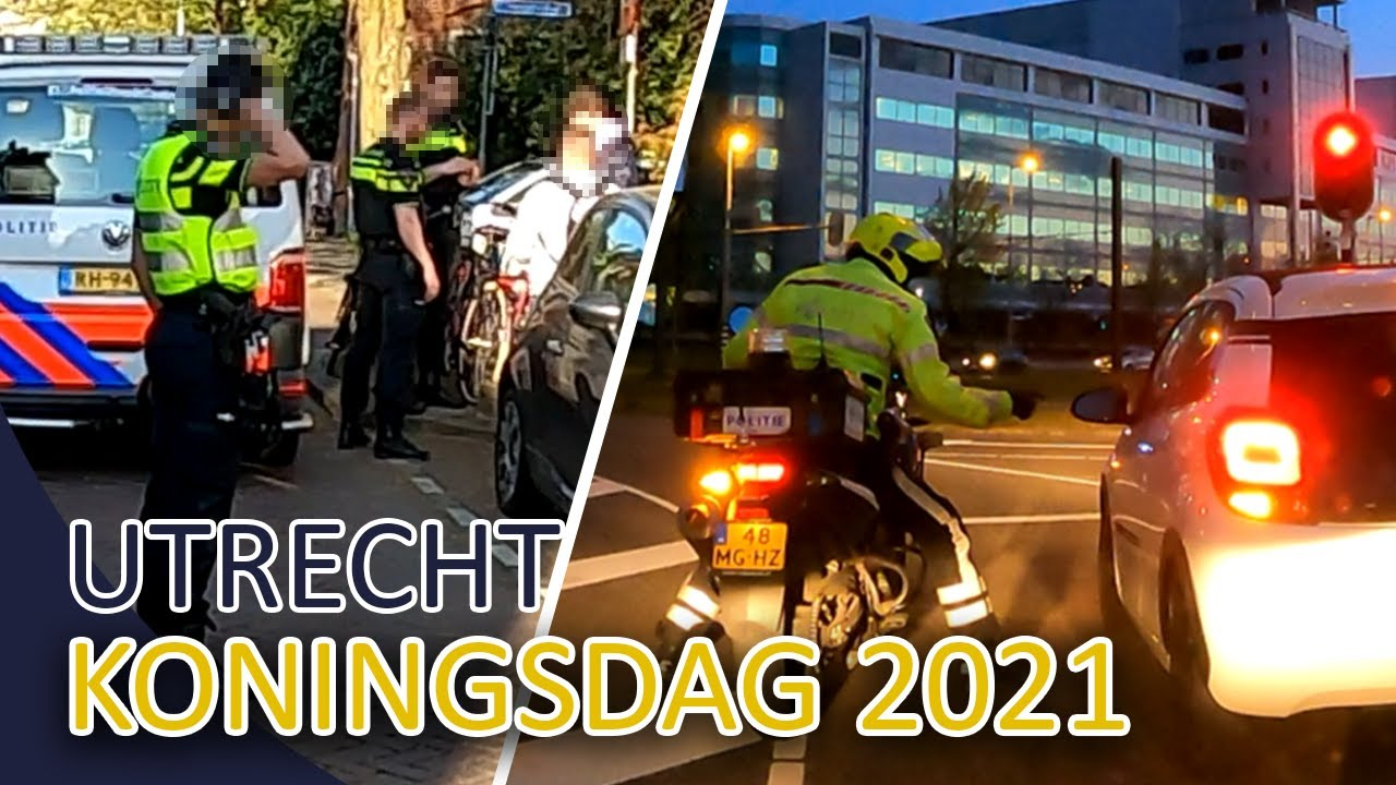 Politie | Koningsdag 2021 in Utrecht | Michael en Jan-Willem | Team Utrecht Zuid