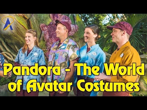 Cast Member Costumes for Pandora - The World of Avatar