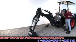 Heavy Duty Tractor Backhoe By Ansung